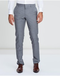 CERRUTI 1881 - Wool Pinstriped Pants