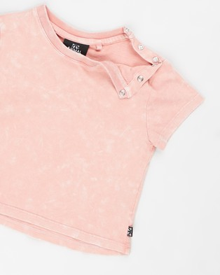 Animal Crackers Suburban SS Tee   Babies - T-Shirts & Singlets (Pink)