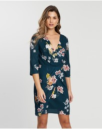 Cooper St - Wilderness Long Sleeve Mini Dress
