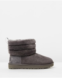 UGG - Fluff Mini Quilted Ugg Boots - Women's