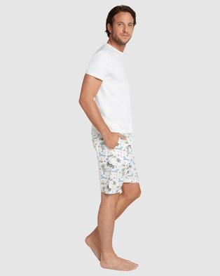 Sant And Abel Palm Springs Sleep Shorts - Underwear & Socks (Multi)