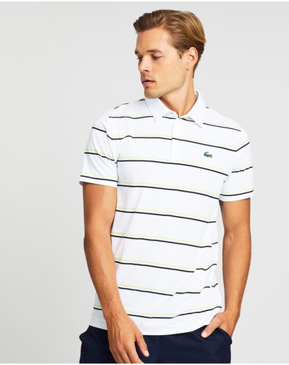 Lacoste - Golf Technical Striped Jersey Polo