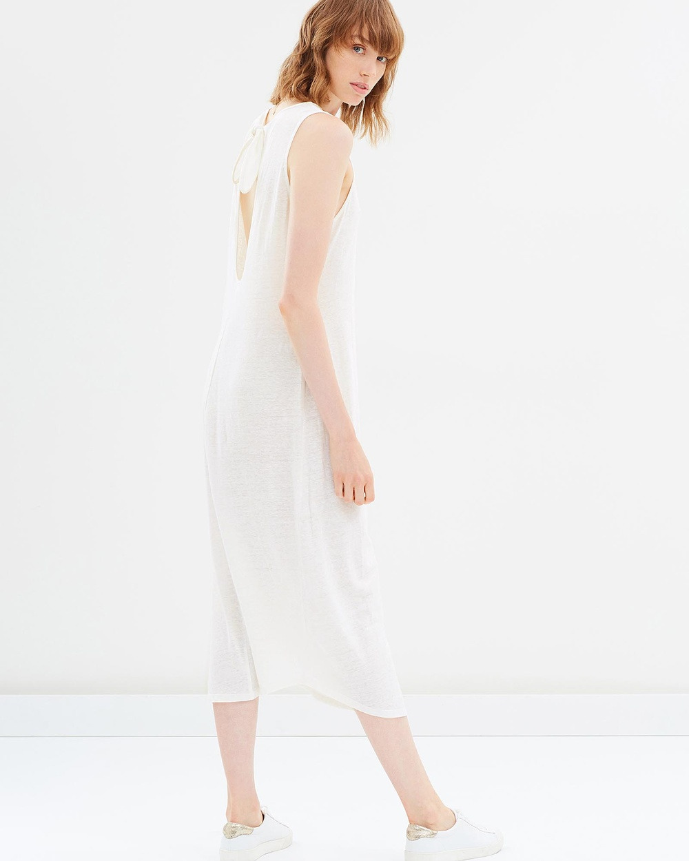 Third Form Embrace Tie Tank Dress Dresses White Embrace Tie Tank Dress