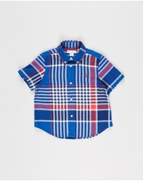 Polo Ralph Lauren - SS Button-Down Madras Shirt - Babies