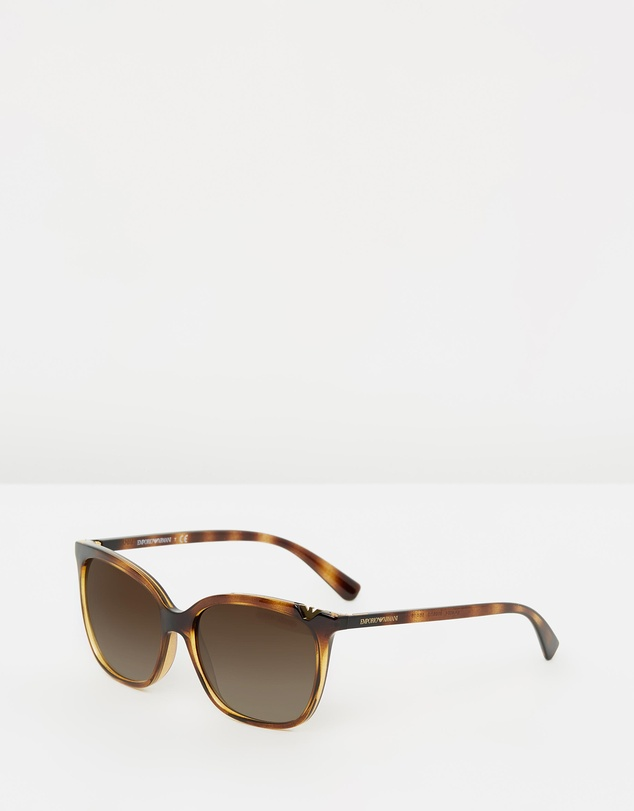 Emporio Armani - Logo Eye Sunglasses