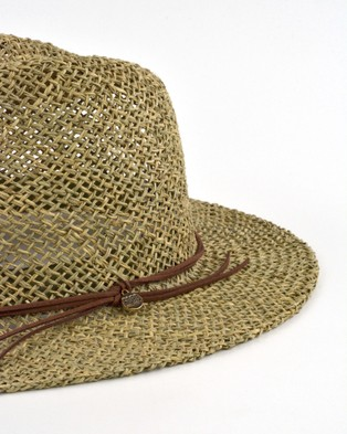 Ford Millinery Roots Hat - Hats (Natural)