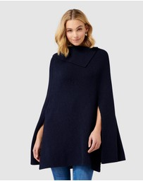 Forever New - Bella Split Neck Poncho