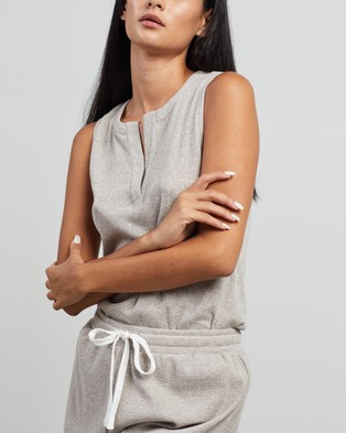 Elka Collective Trademark Pj Set - Two-piece sets (Latte Marle)