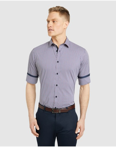 Tarocash - Mcquade Stretch Check Shirt