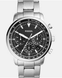 Fossil - Goodwin Silver-Tone Chronograph Watch