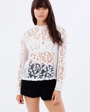 By Weave – Dahlia Shirt White
