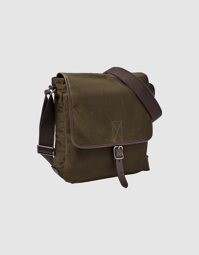 92d940304a82 Buckner Green Messenger Bag by Fossil Online | THE ICONIC | Australia
