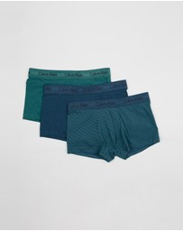 Calvin Klein - 3-Pack Cotton Stretch Low Rise Trunks