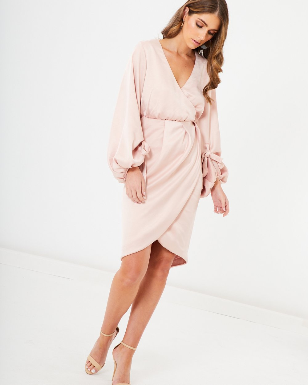 Cheryl Bell Sleeve Midi Dress
