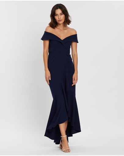 Montique - Lola Stretch Crepe Gown