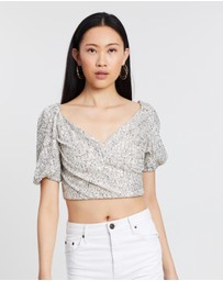 C/MEO COLLECTIVE - Lustre SS Top