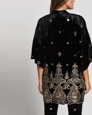 LENNI the label Whiskey Kimono - Coats & Jackets (Black)