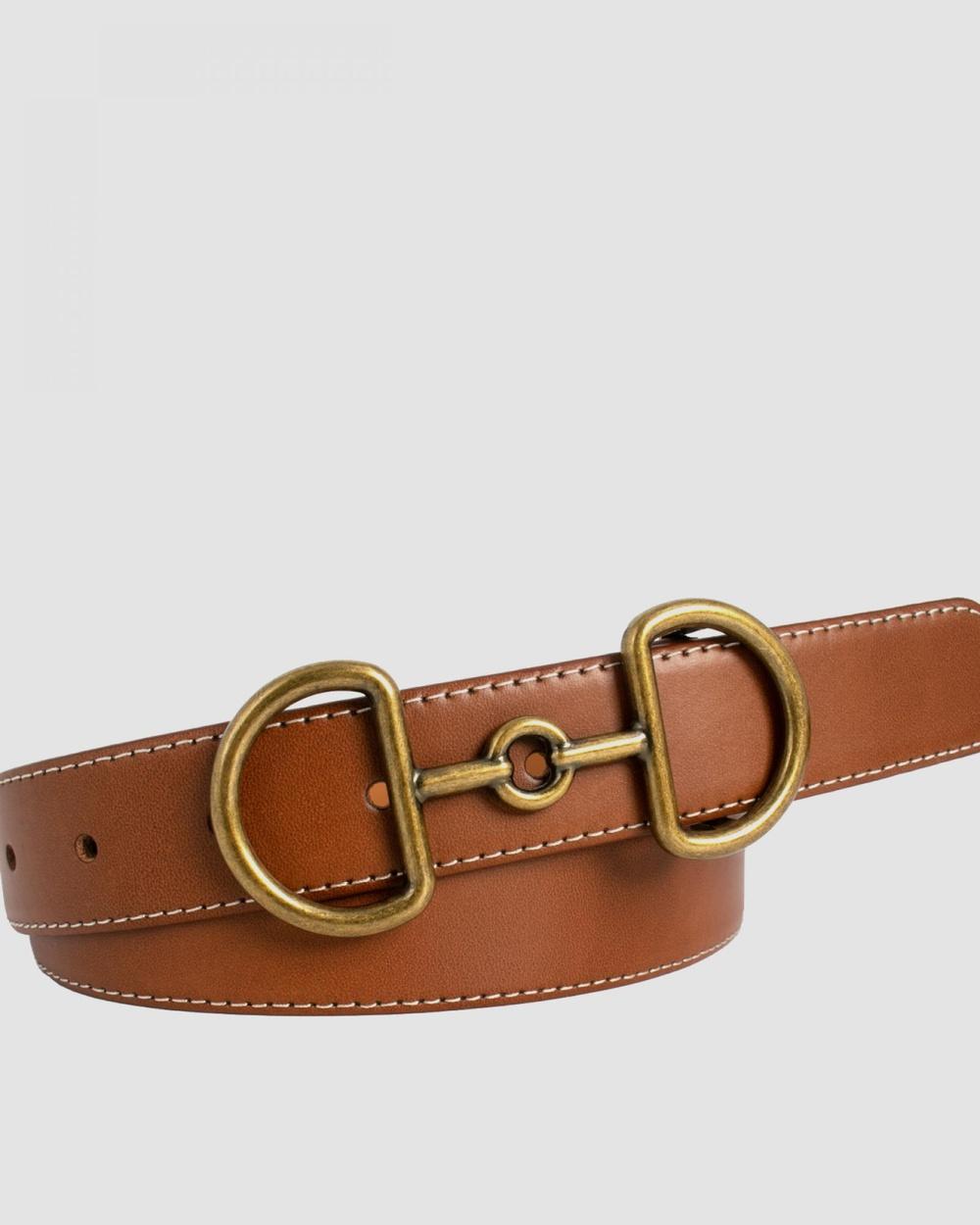 Loop Leather Co Bonny Belts Tan