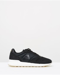 Le Coq Sportif - Omega X W Striped Sock Sparkly Black 37