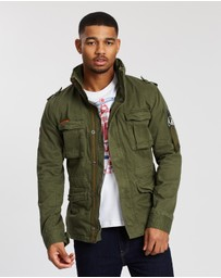 Superdry - Classic Rookie Four-Pocket Jacket