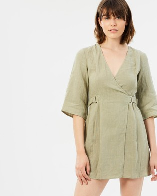 Third Form – The Catch Mini Sleeved Dress