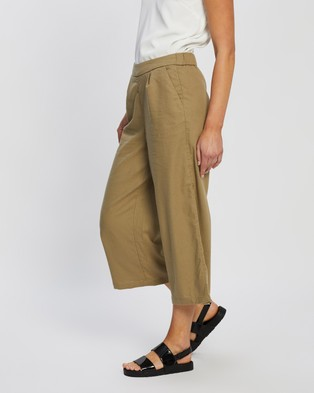 ONLY Carisa Culotte Pants - Pants (Martini Olive)
