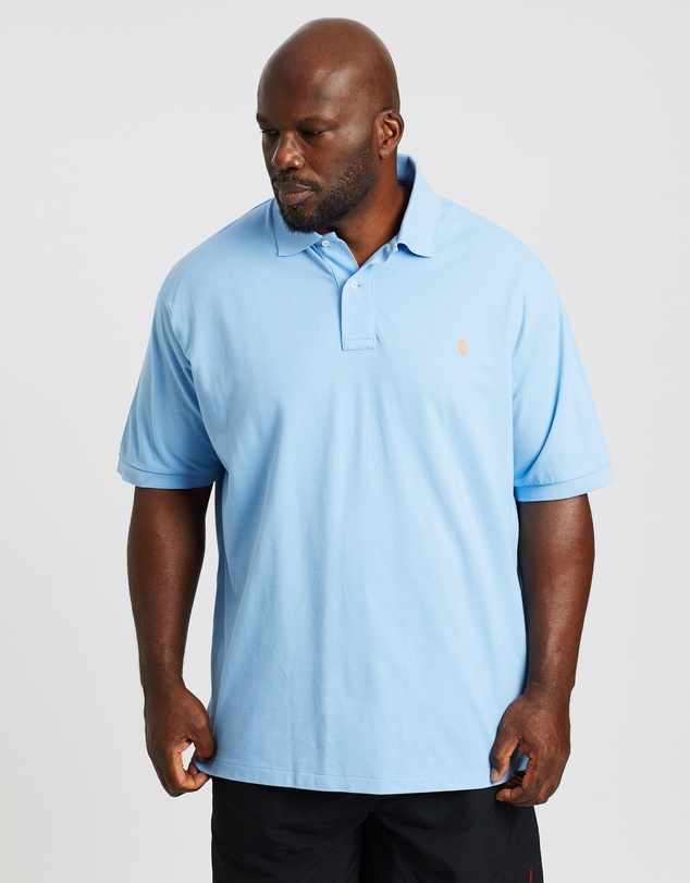 Polo Ralph Lauren - Plus Custom Slim SS Knit Polo