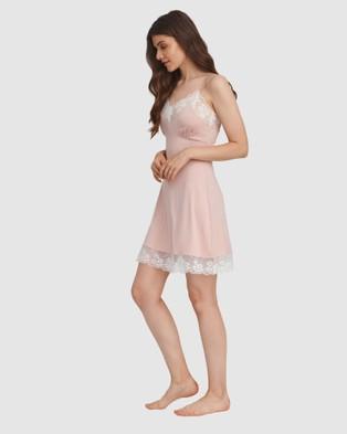 Oh!Zuza Lace Trim Chemise - Sleepwear (Pink)