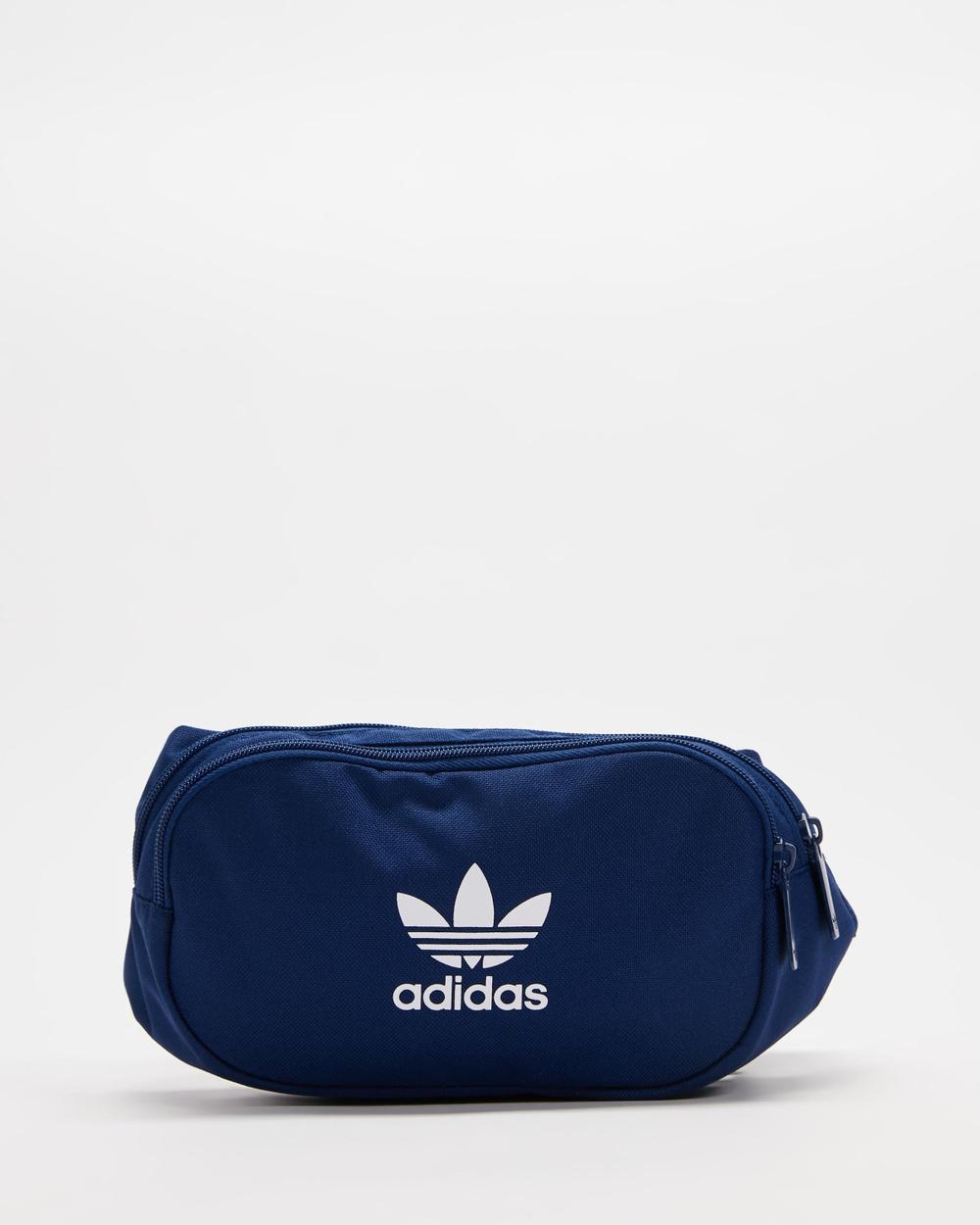 adidas Originals Adicolour Webbing Waistbag Bum Bags Victory Blue & White