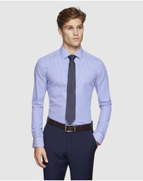 Oxford - Beckton Self Stripe Shirt