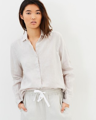 Assembly Label – Xander Shirt – Tops (Flax)
