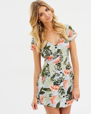 Toby Heart Ginger – Old Havana Dress Tropical Print
