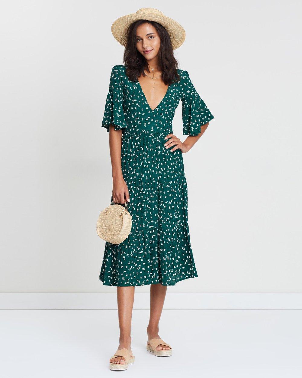f88c915816a38 Melia Midi Dress by Faithfull Online