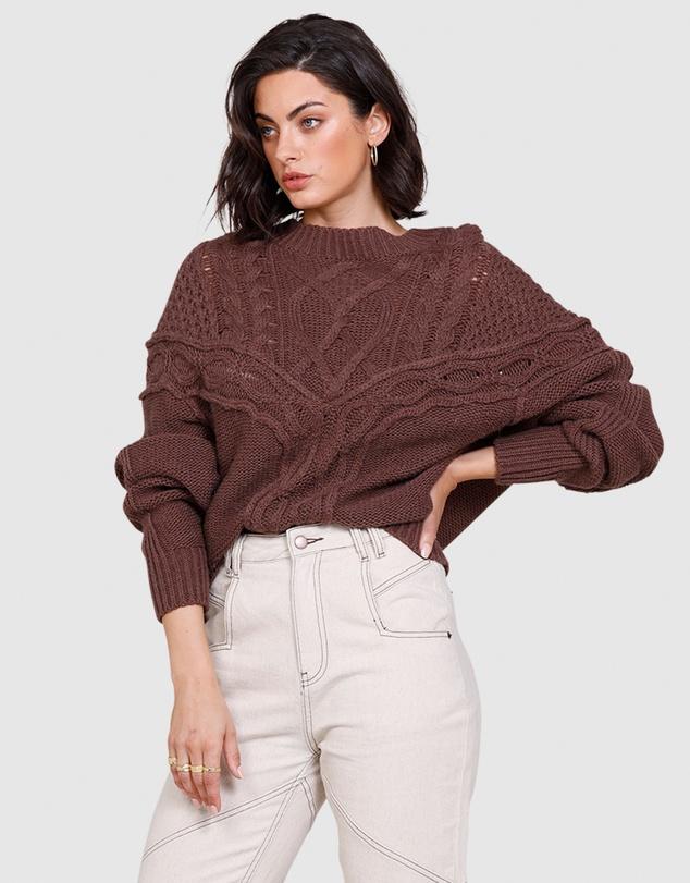 Women Westward Knit Sweater