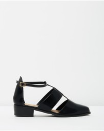 SPURR - ICONIC EXCLUSIVE - Marcel Cut-Out Flats
