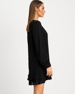 Reux Xena Mini Dress - Dresses (Black)
