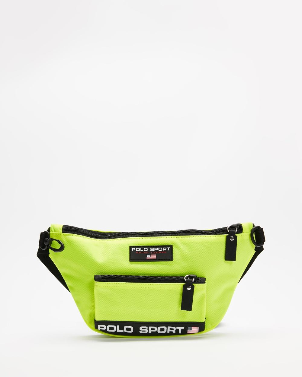 Polo Ralph Lauren Sport Waist Pack Bum Bags Bright Yellow