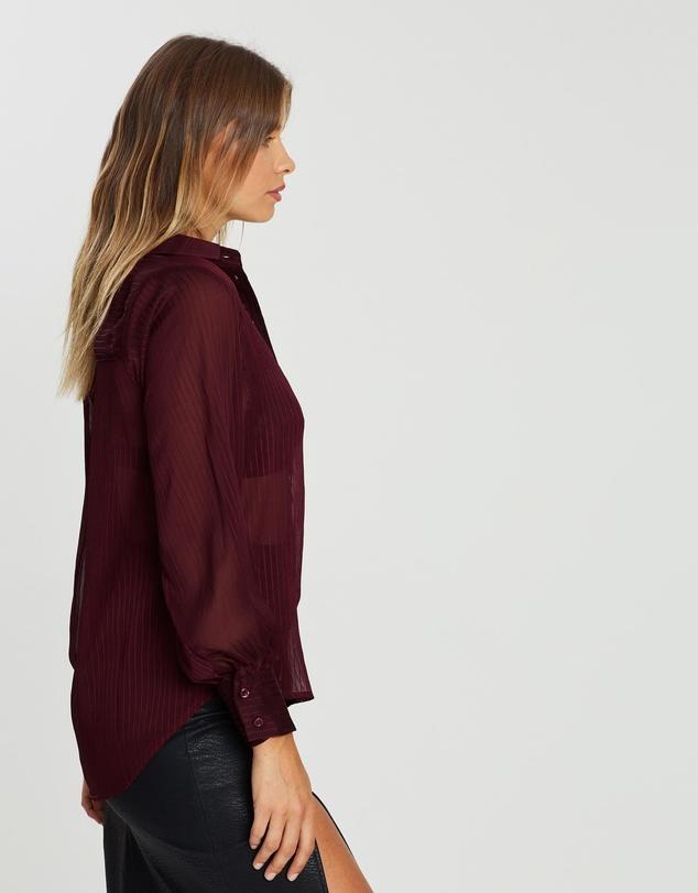 Women Ella Balloon Sleeve Shirt