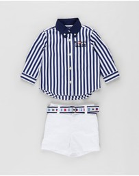 Polo Ralph Lauren - Poplin Shorts Set - Babies