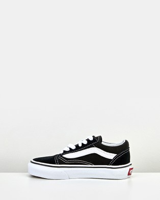 Vans Old Skool Youth - Lifestyle Shoes (Black White)