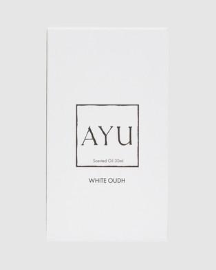 AYU WHITE OUDH Perfume Oil 30ml - Beauty (N/A)