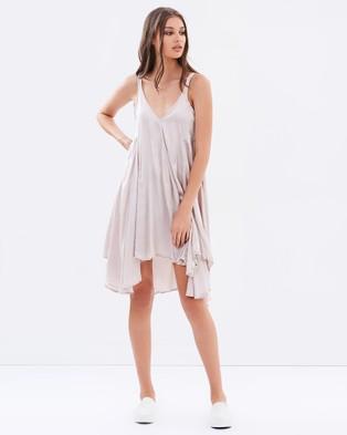 Primness – Bocs Dress – Dresses (Taupe)