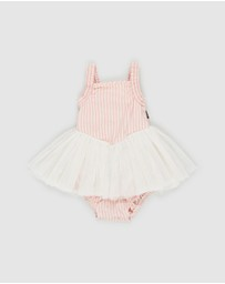 Rock Your Baby - Stripe Lou Lou Circus Dress - Babies