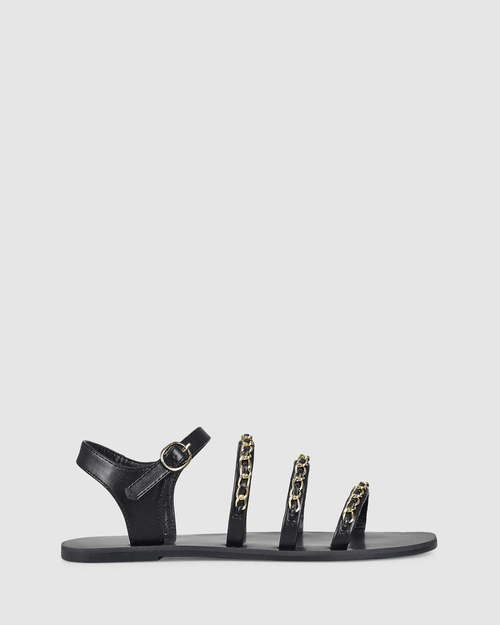 Verali Candice Sandals Black