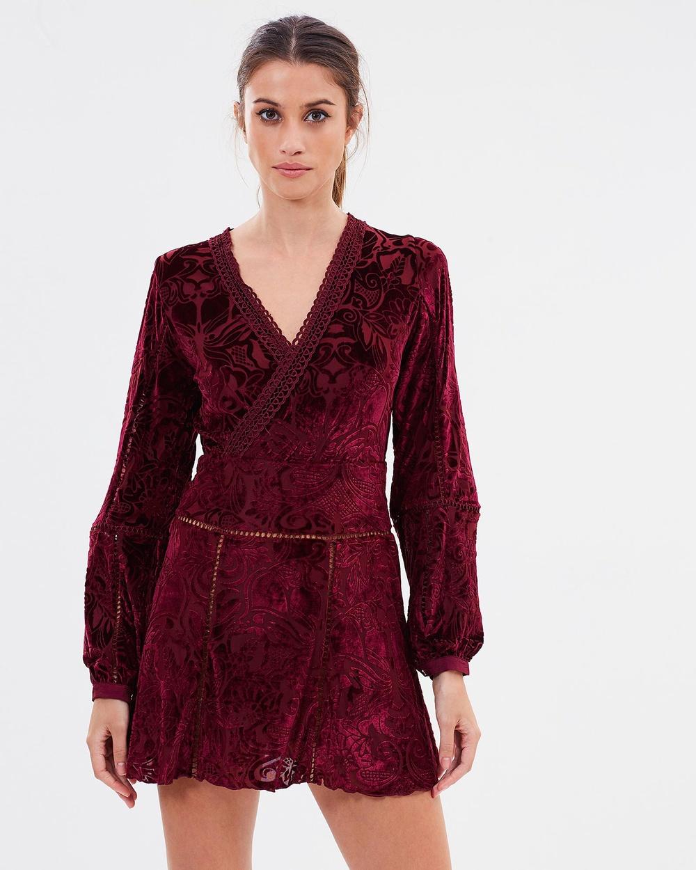 Winona Sangria Dress Dresses Wine Sangria Dress