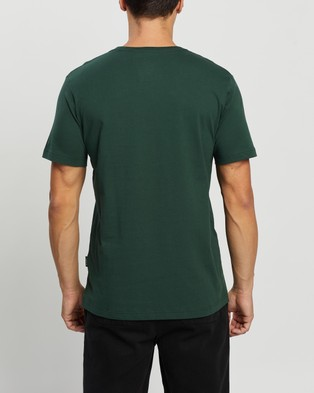 Mr Simple - Reginald Tee - T-Shirts & Singlets (Bottle Green) Reginald Tee