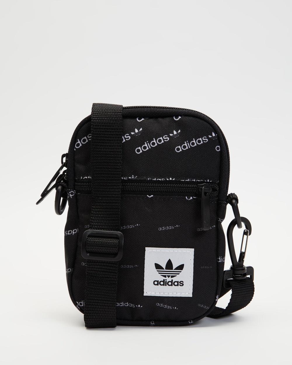 adidas Originals Monogram Festival Bag Bags Black & White