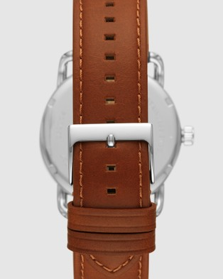 Fossil Copeland Brown Analogue Watch - Watches (Brown)