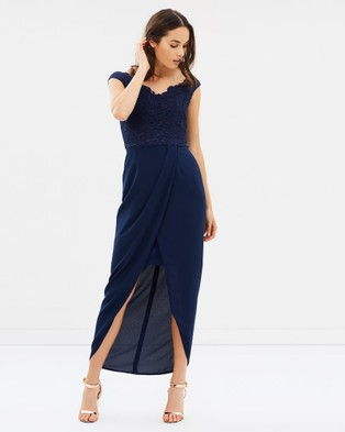 Alabaster The Label – Extravaganza Dress – Bridesmaid Dresses (Navy)