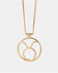 Karen Walker - Taurus Zodiac Necklace